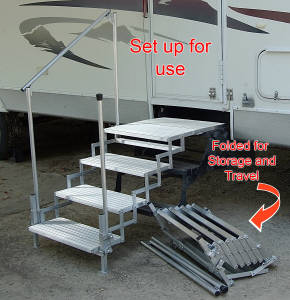 Don T Fall Down On The Road Get Rv Steps