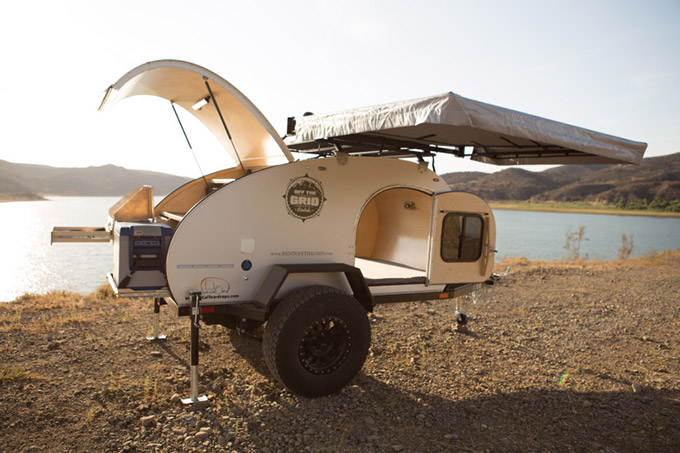 Popular This Summer To Go Off Roading With This Rugged Pop Up Tent Trailer